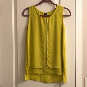 DE/nim sleeveless blouse XS NWOT